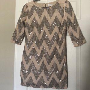 Sequin Tobi Shift Dress